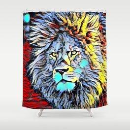 Color Kick Lion King Shower Curtain