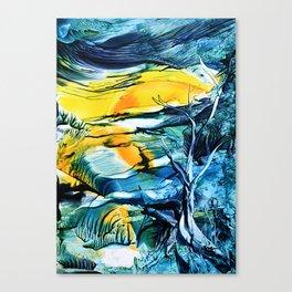WinterFullMoon Canvas Print