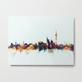 Berlin Germany Skyline Metal Print