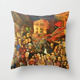 Vucciria#2013 Throw Pillow
