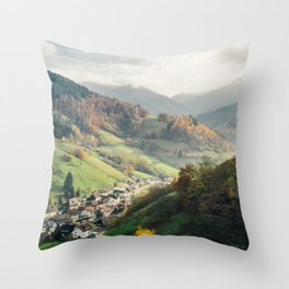 Schwarzwald Black Forest Throw Pillow