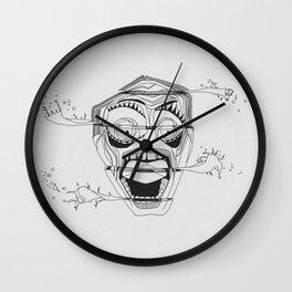 Sliced Head Wall Clock