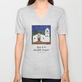 Iglesia de la Inmaculada Concepcion Unisex V-Neck