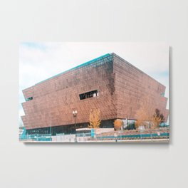 National Museum of African American History and Culture Metal Print