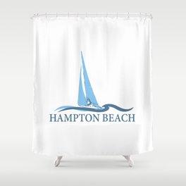 Hampton Beach NH. Shower Curtain