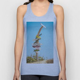 Arrows distance Unisex Tank Top