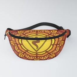 Solar Plexus Mandala Chakra #01 Fanny Pack