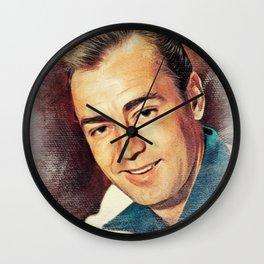Alan Ladd, Movie Legend Wall Clock