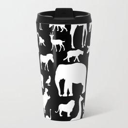 African Fauna Travel Mug
