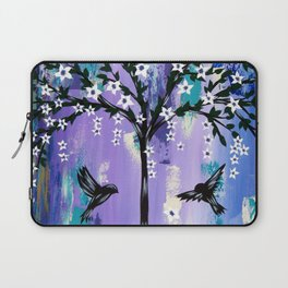 Purple Tree of Life Laptop Sleeve