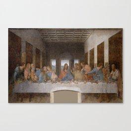 Leonardo da Vinci – Ultima cena – the last supper Canvas Print
