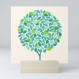 Mid Century Lime Tree Mini Art Print