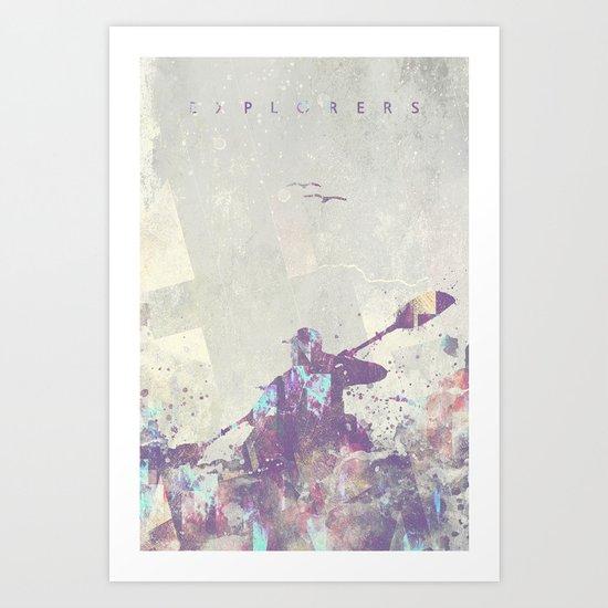 Explorers II Art Print