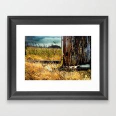 The Rail Framed Art Print