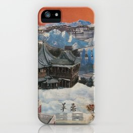 Tibetan Montage 1984 iPhone Case