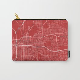 Montgomery Map, USA - Red Carry-All Pouch