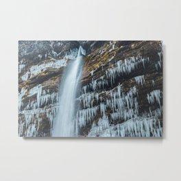 Waterfall Peričnik in Mojstrana, Slovenia Metal Print