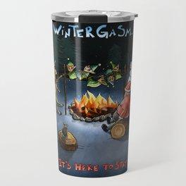 Wintergasm Travel Mug