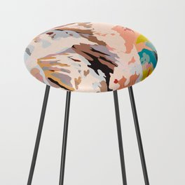 glass mountains Counter Stool