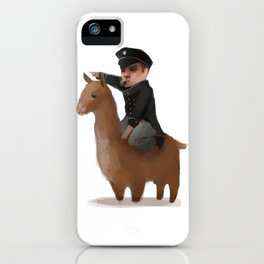 """Onwards, my brave steed!"" iPhone Case"