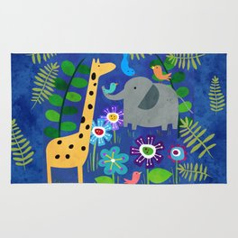 Safari Party Rug