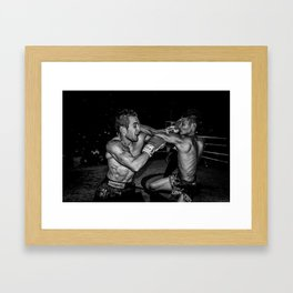 This is Muay Thai. Framed Art Print
