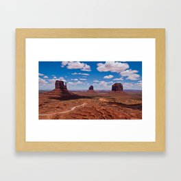 Monuments of Utah Framed Art Print