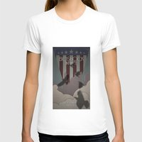 bioshock infinite T-shirts featuring Bioshock Infinite - One Nation Over God by s2lart