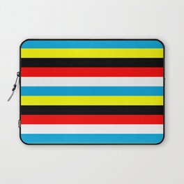 Antigua and Barbuda flag stripes Laptop Sleeve