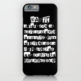 Bad Pi iPhone Case