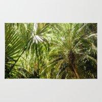 Tropical Palms Rug