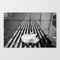 Big Apple - New York City | B/W Canvas Print