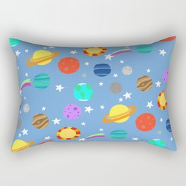 planets and stars Rectangular Pillow