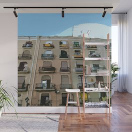 Barcelona Building  Wall Mural