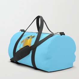 Hungry! The Dangerous Fish! NoLettering Duffle Bag