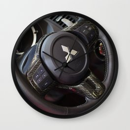 Mitsubishi Lancer Evolution X Wheel Wall Clock