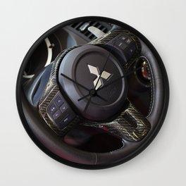 Mitsubishi Lancer Evolution X Wheel Wall Clock