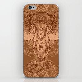 Sepia Ganesha iPhone Skin