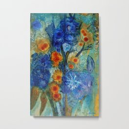 Over Bloom Metal Print