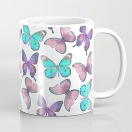 Flutter Butterfly Pattern Coffee Mug