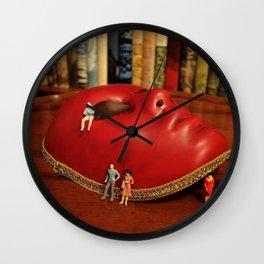 Mask Wall Clock