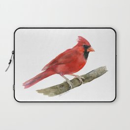 Red Cardinal Watercolor Laptop Sleeve