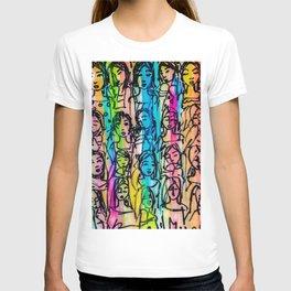 beautiful color T-shirt