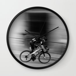 Cyclist Wall Clock