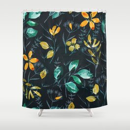 floral ni Shower Curtain