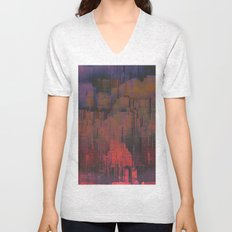 Urban Poetry in the Floating Town / 27-11-16 Unisex V-Neck