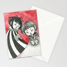 sad children Stationery Cards