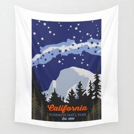 Yosemite. Wall Tapestry