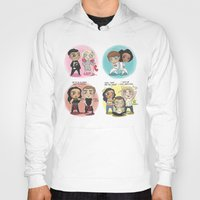 cyrilliart Hoodies featuring Adventures of 1D & LM by Cyrilliart
