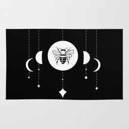 Bee & Moon Phases Rug